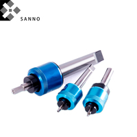 Rotary broaching small body cutter with punch head 3 32 shank punching rolling burnishing tools for cnc lathe machine
