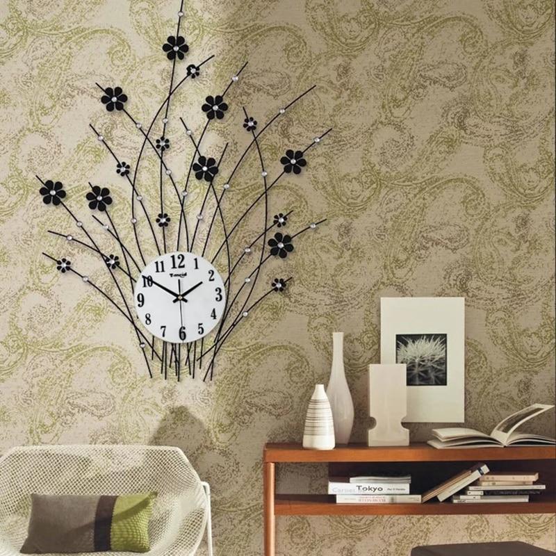 3d orologio da parete design moderno decorativa grandi - Orologi componibili da parete ...