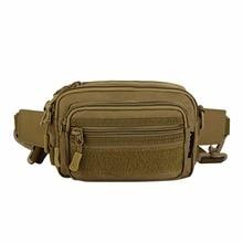 1Pcs Outdoor Hunting 1000D Nylon Multi-Function Tactics Waist Bag Camping Climbings Waist Bag Gear Military Waist Pack 2019 цена