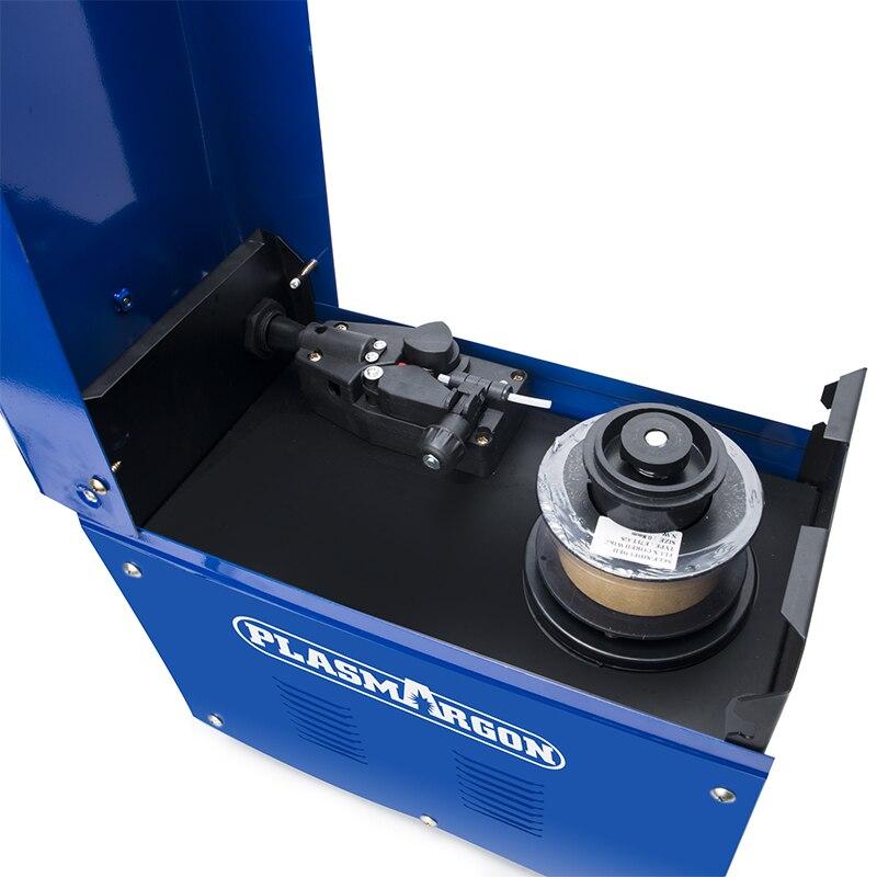 Spawarka MIG 130 110V spawarka gazowa mniej MIG drut automatyczne podawanie spawarka