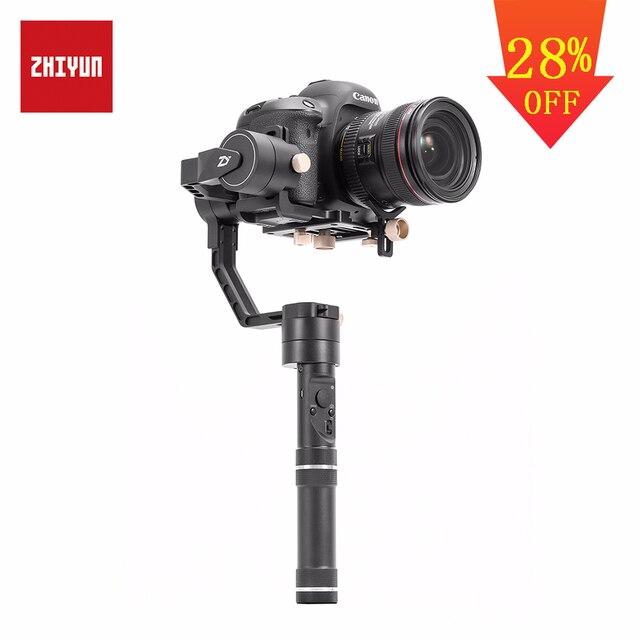 ZHIYUN Official Crane Plus 3-Axis Handheld Gimbal Stabilizer for Mirrorless DSLR Camera for Sony A7/Panasonic LUMIX/Nikon J/Cano