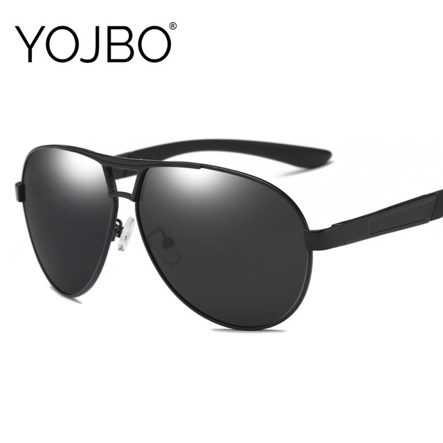 YOJBO Для Мужчин's-поляризованные очки UV400 gafas-де-сол Для женщин негабаритных вождения солнцезащитные очки для мужчин Брендовая Дизайнерская обувь черные очки