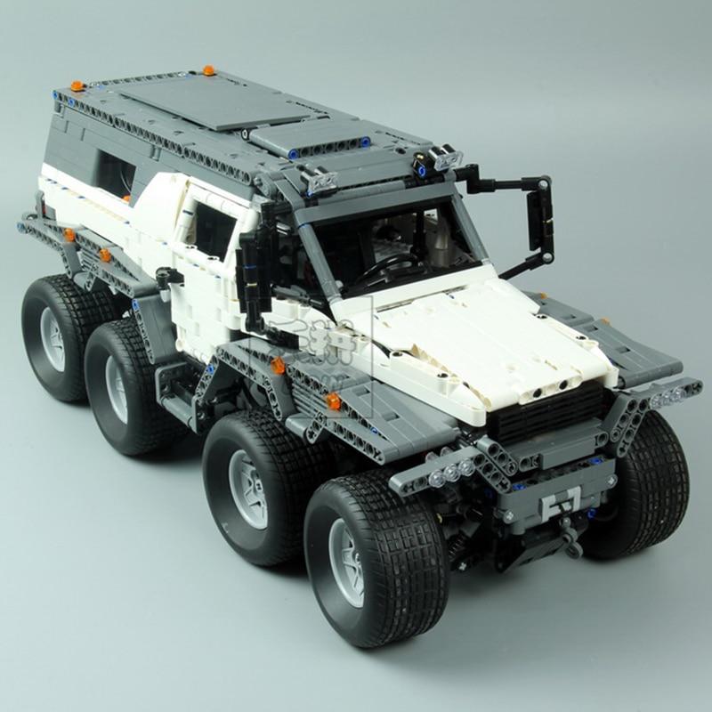 New LEPIN Technology 23011 2959Pcs Siberian off-road vehicle models Model Building Kits Block Bricks Compatible legoed 5360
