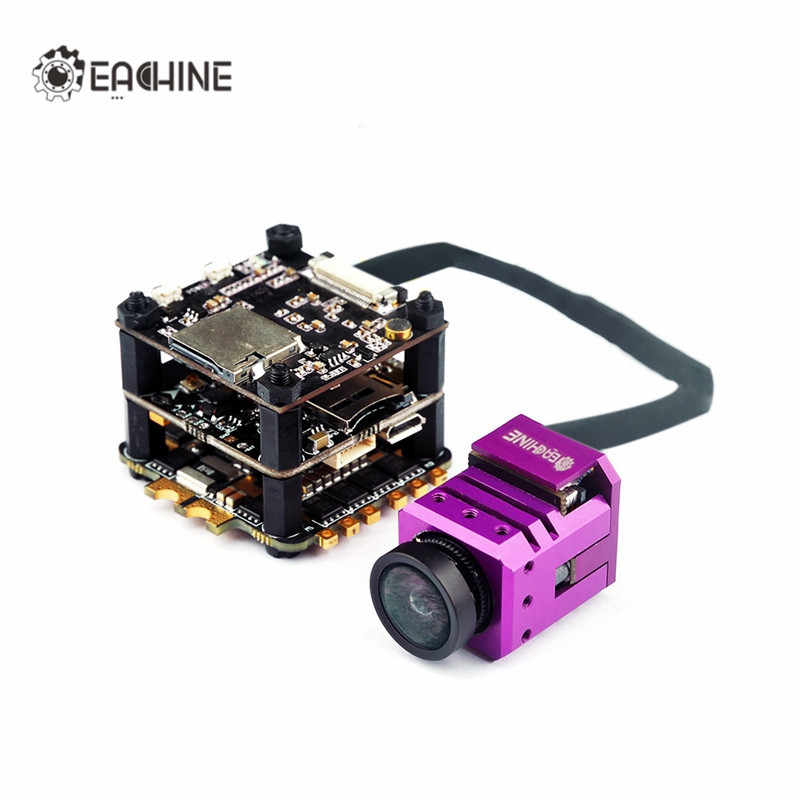 High Quality Eachine Stack-X F4 Flytower F4 Flight Controller Built-in VTX OSD 1080P DVR 4 In 1 35A Dshot600 ESC with FPV Camera hot new eachine stack x f4 flytower spare part 35a 4 in 1 esc 2 6s blheli s dshot600 ready for rc drone fpv racing