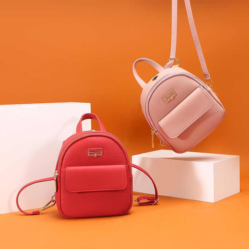 WEICHEN брендовый Дизайнерский Модный мини-рюкзак женский кожаный женский рюкзак многофункциональная женская маленькая сумка на плечо высокое качество