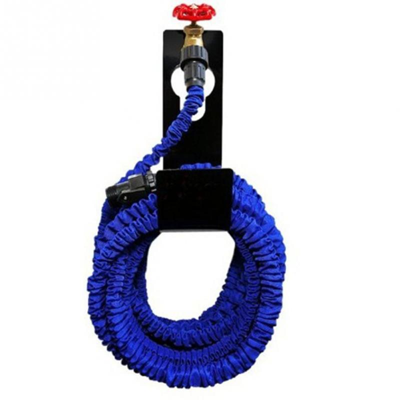 new metal garden hose pipe reel holder hanger outdoor wall mounted tap watering organizer storage holder