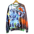 Symphony 3d pony my little pony cartoon printed in Europe and America long-sleeved sweatshirt pullovers hoodie
