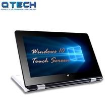 Touch Screen Ultrabook 4G RAM 64G SSD CPU Intel 4 Cores Windows 10 Laptop Bluetooth Office White AZERT Spanish Russian Keyboard