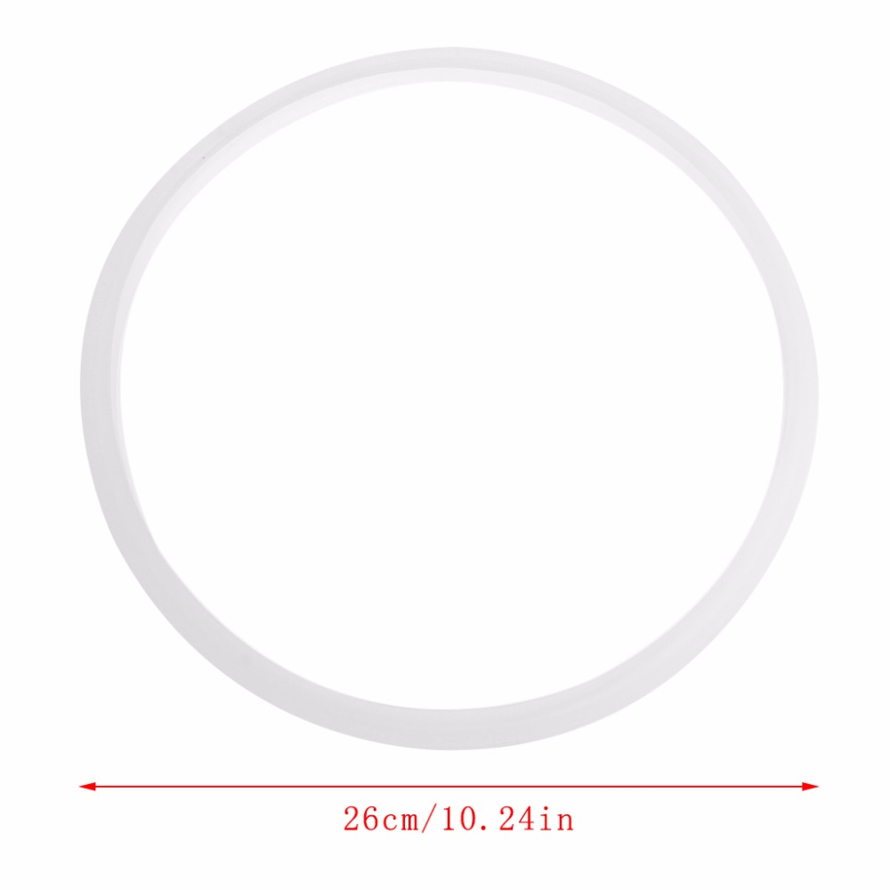 Gasket Replacement for Pressure Cookers Silicone Rubber Gasket Sealing Seal Ring Kitchen Cooking Tool 26cm/10.24Gasket Replacement for Pressure Cookers Silicone Rubber Gasket Sealing Seal Ring Kitchen Cooking Tool 26cm/10.24