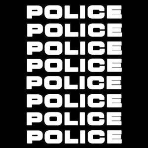 Image 2 - 8pcs/lot Car styling Car Decals POLICE Reflective Car Stickers Decals Motorcycle Decorative Personality Car Styling 16*2.5CM
