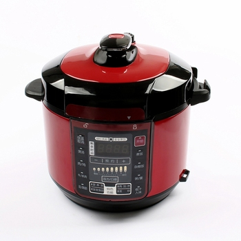 DMWD 5L 220V Electric Pressure Cooker with Non-Stick Coating and 12 Menus for Instant Rice Cooking