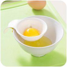 Creative Mini Kitchen Tools Bakeware Gadget Egg Yolk White Separator Egg Sieve Device Filter Sieve Divider r30cm gravel sieve aperture 2 36mm 90mm standard laboratory test sieve square hole sieve stone sieve with lid and bottom