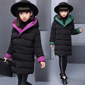Image 3 - child Jackets Coats 8 10 12 Years Girls Coat Baby Girl Autumn Winter Long Sleeve Jacket Children Clothes Kids Christmas Outwear