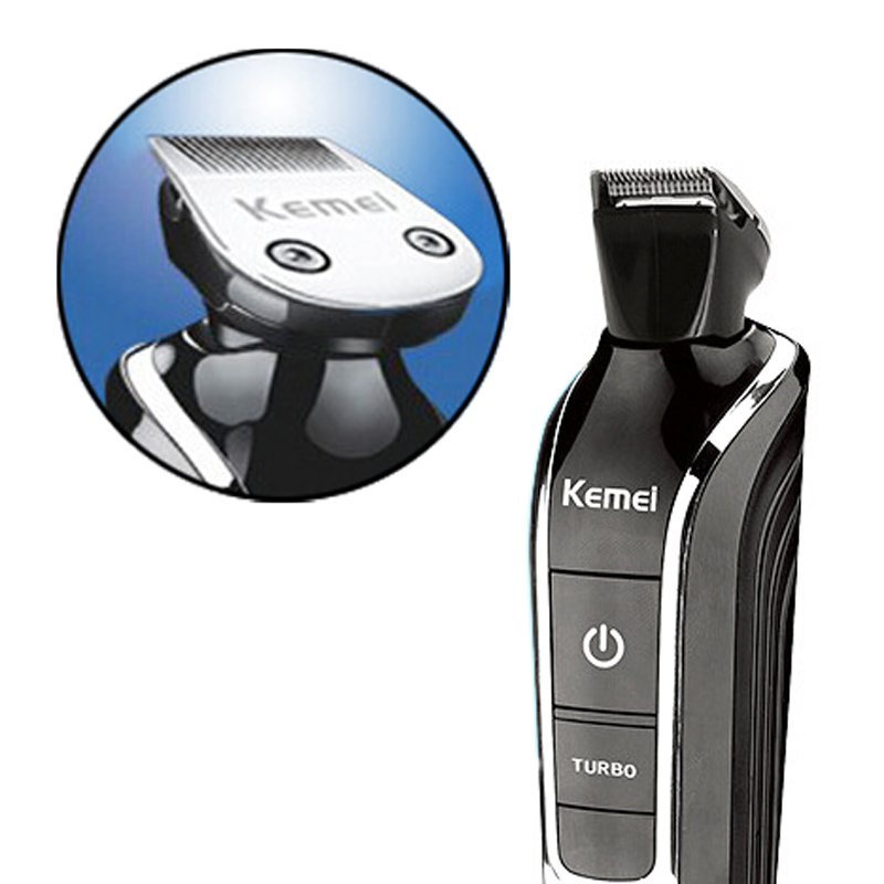 <font><b>Kemei</b></font> KM-<font><b>1832</b></font> 5in1 Waterproof Rechargeable Electric Beard Cutter Hair Clipper Nose Hair Beard Trimmer Shaver razor barber image