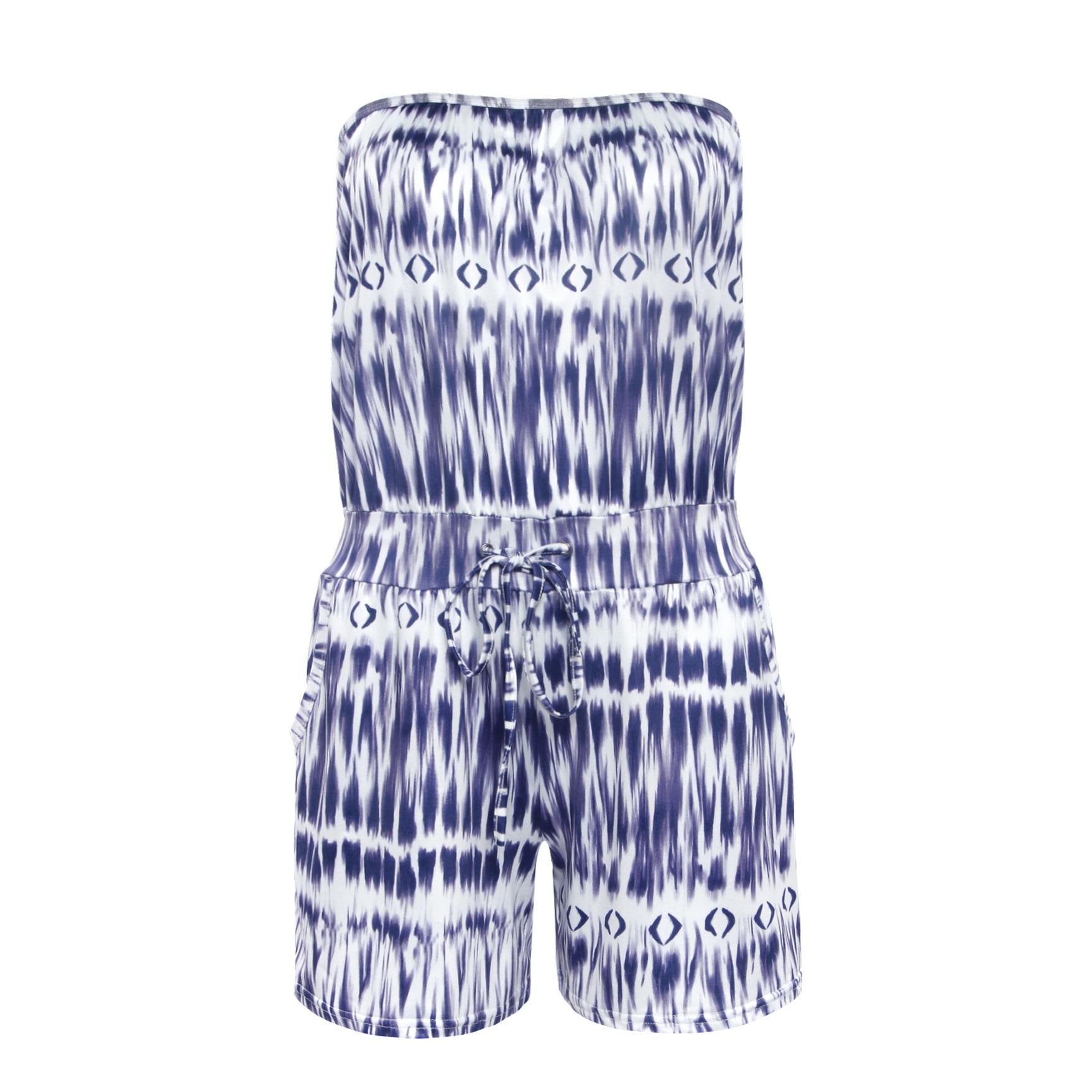 2018 New Summer Playsuit Women Kimono Chiffon Boho Floral Playsuit Print Ruffles All-match Lady Sexy Beach Girls Playsuit