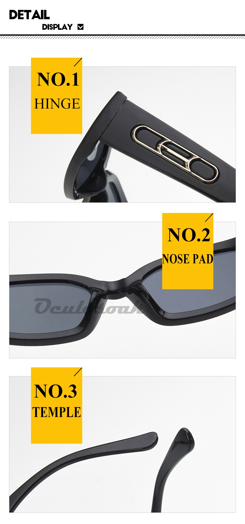2019 New Ins Popular CEO Rectangle Sunglasses Women Brand Designer Ulzzang Candy Colors Clear Red Blue Sun Glasses Men in Men 39 s Sunglasses from Apparel Accessories