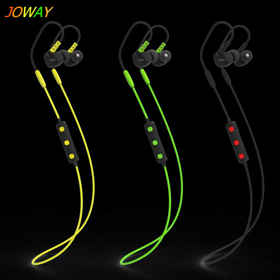 Joway Sports Binaural Stereo Bluetooth Earphones waterproof Shockproof Earphone for Samsung headsets iPhone mobile phones