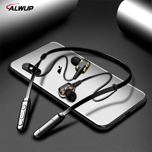 ALWUP Bluetooth Earphone Drive Hybrid Four-Unit Deep-Bass Double-Dynamic Wireless