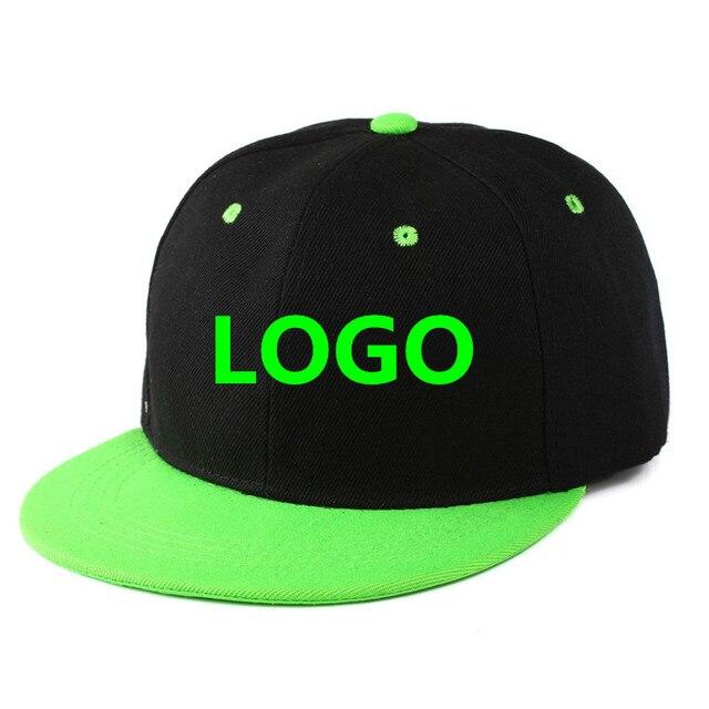10PCS LOT SnapBack Adult Kid Embroidery Logo Diy Your Own Cap Custom Caps  Snapback Blank Dad Sport Hip Hop Ball Man Hats 6b7b7ddfe5a