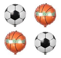 18 дюймов футбольный воздушный шарик воздушный шар из фольги Баскетбол воздушный шар украшения Дети День Рождения Аксессуары баллон