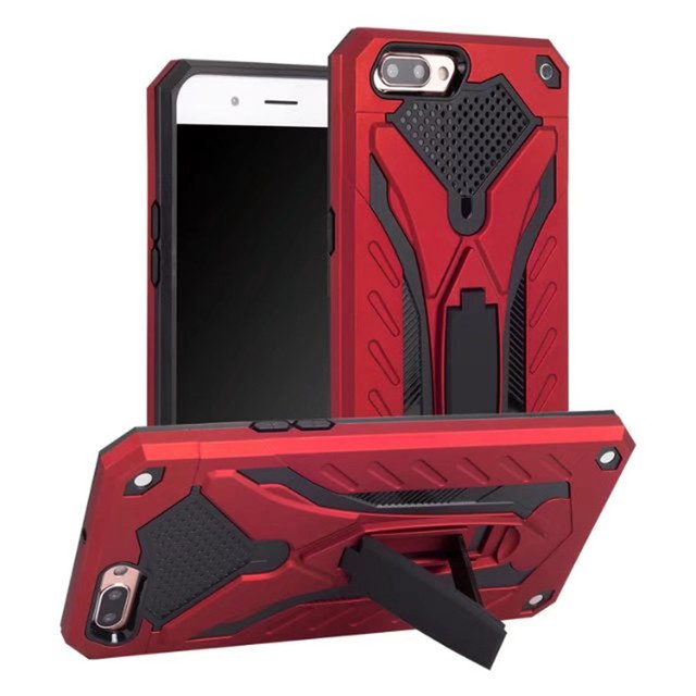 For OPPO F5 A73 R11 R9S R11S Plus Case Shockproof Armor Holder TPU Stand Rugged Phone Cover For OPPO F3 A75 A37 A59 A57 A59 A71