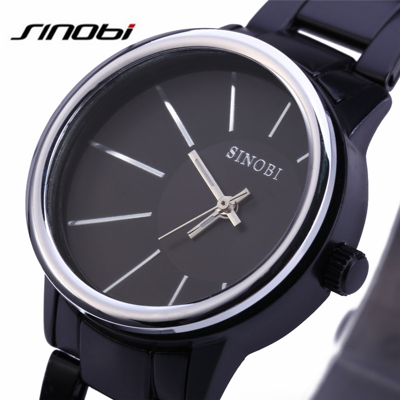SINOBI Mens Wristwatches Fashion&Casual Analog Quartz Watch Steel Sports Watches Relogio Masculino Male Hours Clock HOT 9338 F57