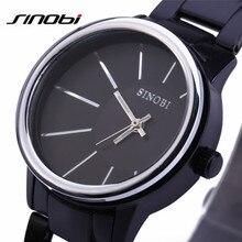 SINOBI Mens Wristwatches Fashion&Casual Analog Quartz Watch Steel Sports Watches Relogio Masculino Male Hours Clock HOT 9338 F57