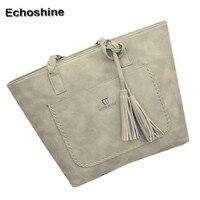 2016 new popular Women Fashion Tassel Handbag Shoulder Bag Large Tote Ladies Purse women bags Clutch gift wholesale A2000