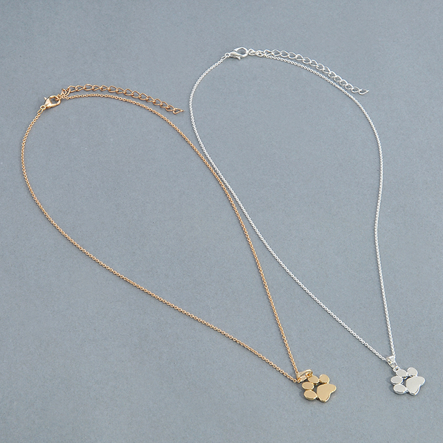 Cute Fashionable Paw Chain Pendant