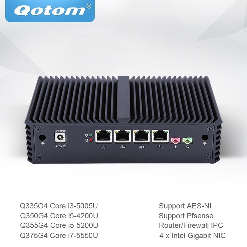 Qotom Mini PC Core…