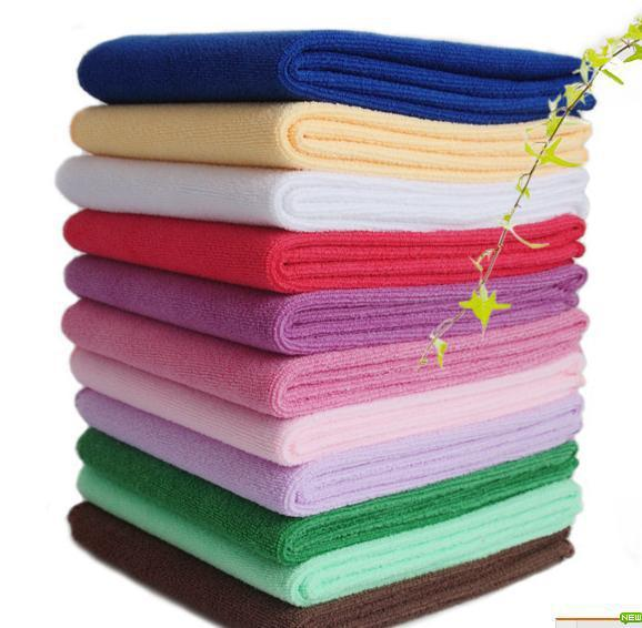 Wholesale superfine fibre barber's beauty salon special towel dry hair, it will take more baotou and * 80 logo