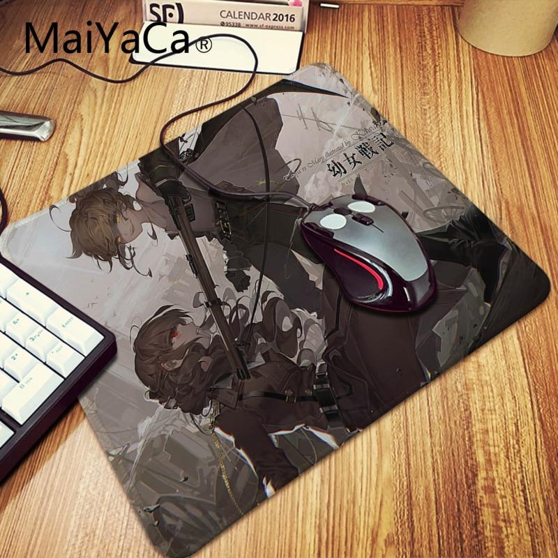 Anime The Saga of Tanya the Evil Mouse pad Anti-Slip Gaming Play Mat Mice pad
