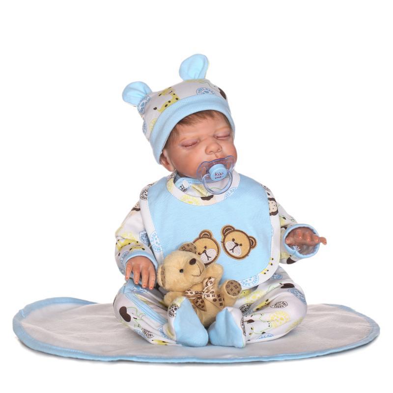 NPKDoll Reborn Full Silicone Vinyl Body Children  Reborn Silicone Reborn Baby Dolls Reborn Doll For Children full silicone reborn dolls