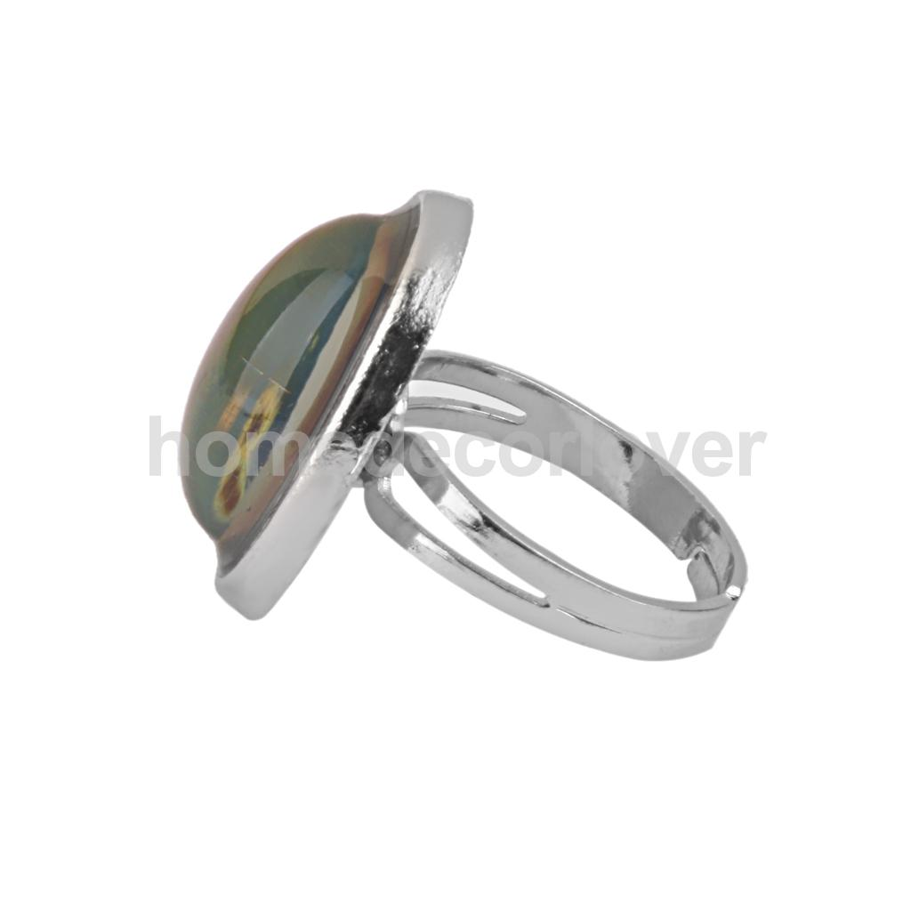 Amazing Colour Changing Mood Ring Mood Chart Emotion Feeling Ring Jewellry