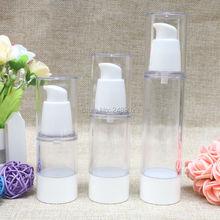 Travel Cosmetic White Refillable Bottles Beak Head Korean Style Plastic Makeup Container Packing Bottle  10pcs/lot