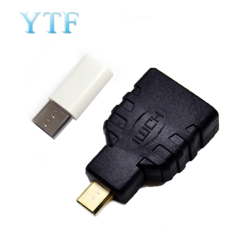 Raspberry Pi 4B HDMI Adapter Power Mini Adapter Video