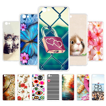 3D DIY Soft Case For Vivo Y71 Case Silicone Painted Fundas For Vivo Y71 Cases Back Cover Coque For Vivo Y71 Housing Hamster Bag купить недорого в Москве