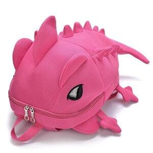 Image 5 - Kids Creative Women Men Travel Backpack 3D Fashion Dinosaur Primary Cartoon School Bags for Teenage Boy and Girls Book Schoolbag
