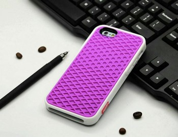 VANS Waffle Case For Apple iPhone X 10 8 7 6 6S 5 5s 7 plus SE Cover Soft Rubber Silicone Waffle Shoe Sole Mobile Phone Funda 6