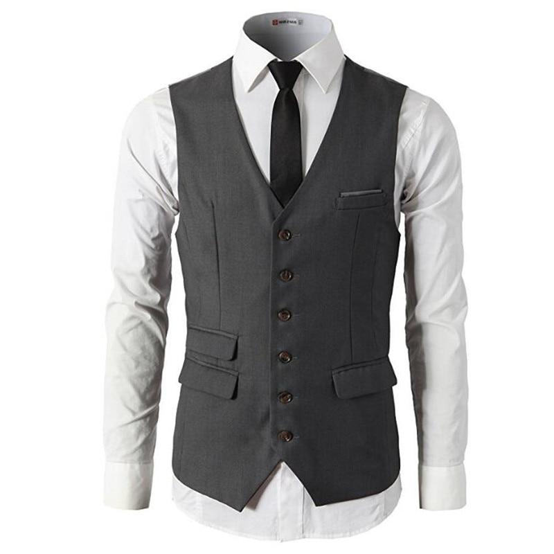 Men/'s Vest 2017 New Spring and Summer Hot Style Men/'s Vest Casual Fitness Men/'s Suit Vest Custom fashion style man waistcoat