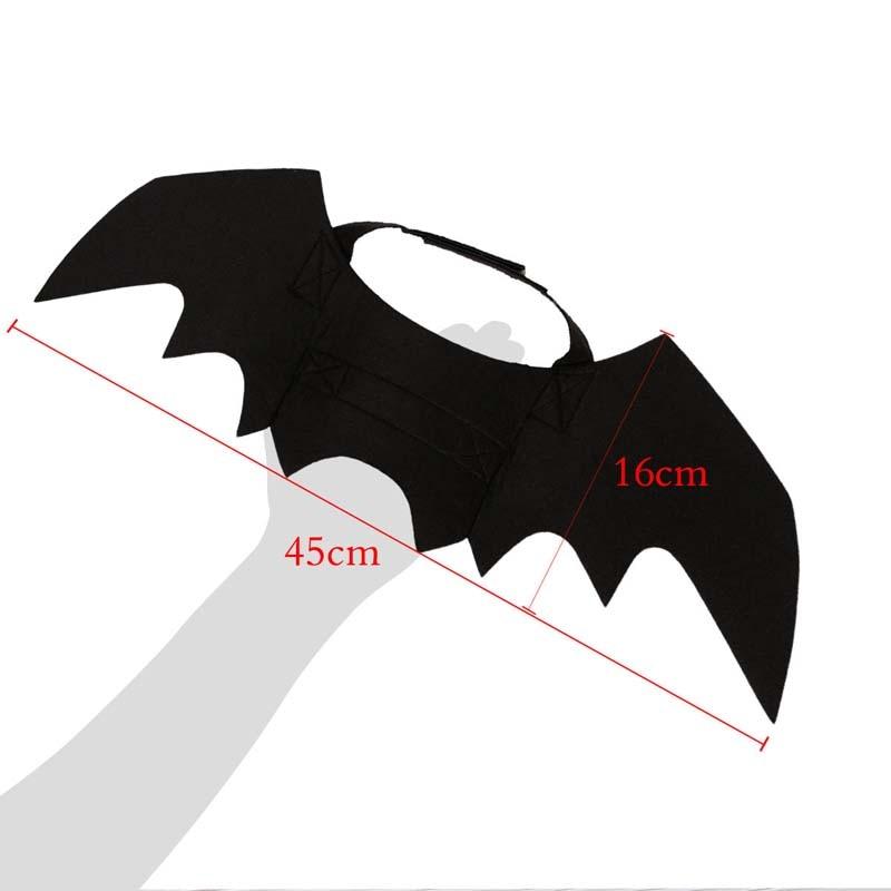 Più Nuovo Pet Costume Di Halloween Ali Di Pipistrello Freddo Del