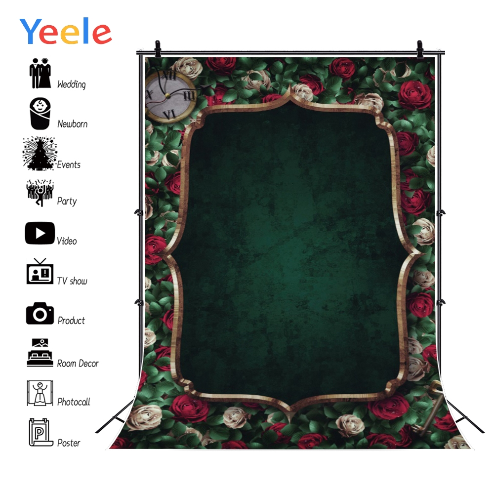 Yeele Grunge Style Self Portrait Personalized Wedding Photocall Photography Backgrounds Photographic Backdrops For Photo Studio