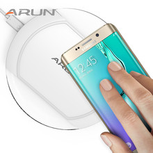 Original ARUN Fast Higher Compatibility Universal Wireless Charger for Samsung S7 Edge S6 Universal Smartphone with QI System
