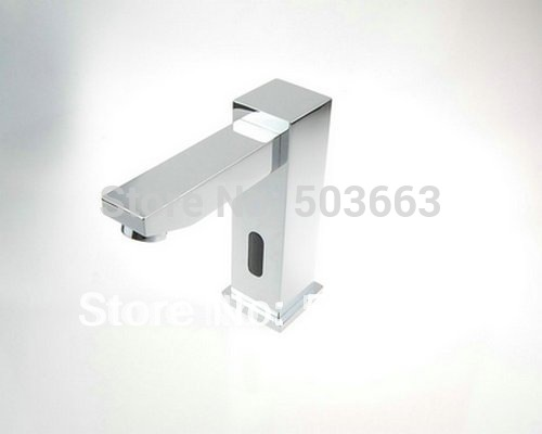 Construction Real Estate Single Cold Automatic Hands Touch Free Sensor Bathroom Basin Sink A 500 Mixer