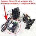Тип импульса монетоприемник, купюроприемник ICT, платежных смарт-адаптер для ПК интерфейс