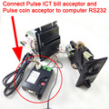 Pulse type Coin acceptor,ICT Bill acceptor, Smart payment adapter to PC interface