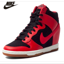 DUNK SKY HI ESSENTIAL Women's Running Shoes Heel Lifed Sports Sneakers #644877-015