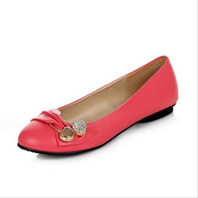 Espadrilles Taille 35-47 classique Plat Chaussures Femmes Tête Ronde Chaussures Plates Printemps Automne non-antidérapant chaussures de travail femmes Chaussure Femme