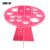Pinceles de maquillaje cosmético maange 16 agujeros de silicona resistente secador de ventilación titular de soporte de almacenamiento de la pluma pantalla que muestra la torre árbol estante