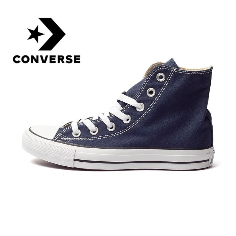 Converse chaussures pour skateboard Sneaksers D'origine Classique Unisexe Toile High Top Anti-Glissante Hommes Femmes Sports de Plein Air 102307